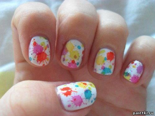Ногти дизайн своими руками в домашних условиях