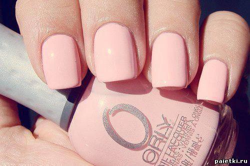 Фото лаки для ногтей розовый