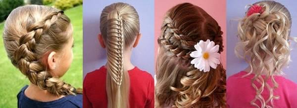 Прически для длинных волос на 1 сентября своими руками