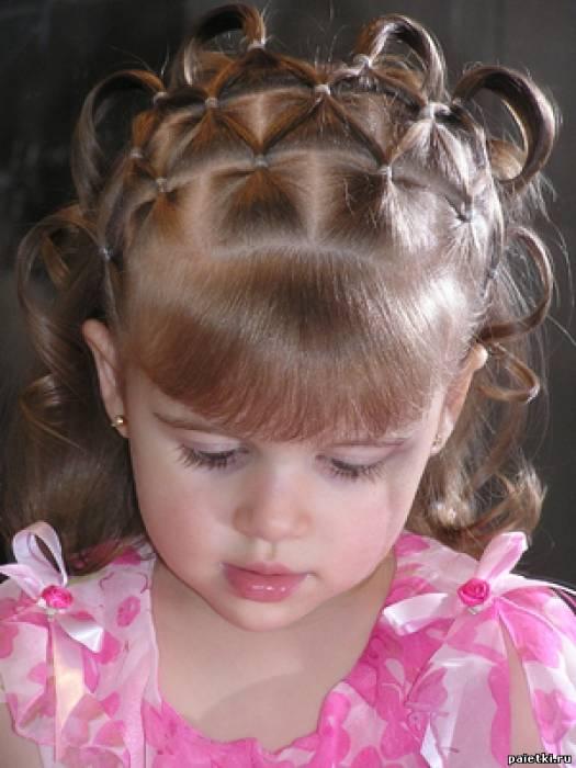 Прически на маленькие волосы