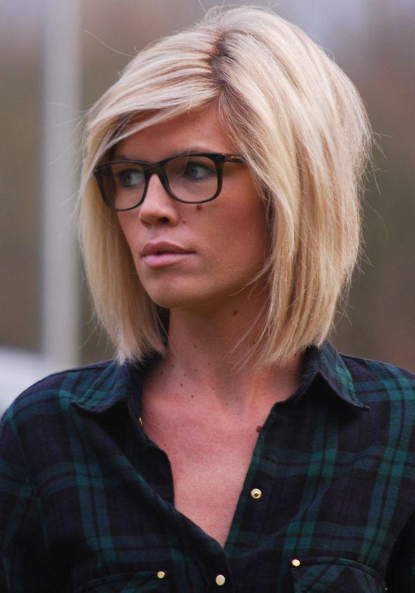 Блондинка каре прическа фото