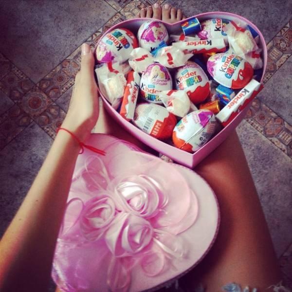 Подарок сладости для девочки