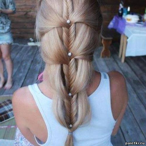 Фото красивая коса своими руками