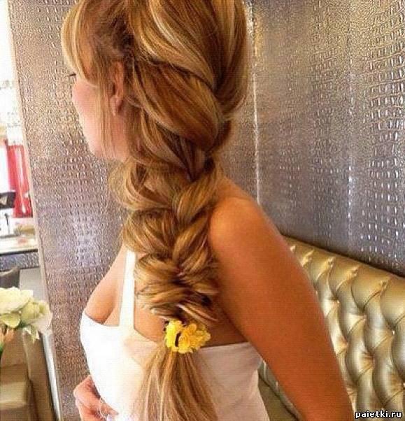 Причёски для длинных волос косы фото