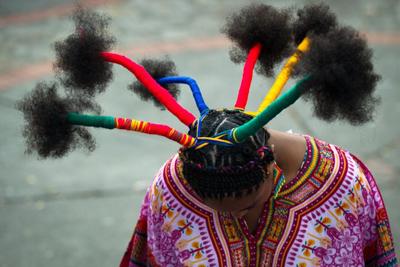 Экзотик-стайл: Афро-прически