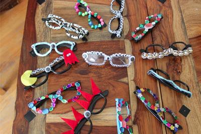 Декорируем солнцезащитные очки