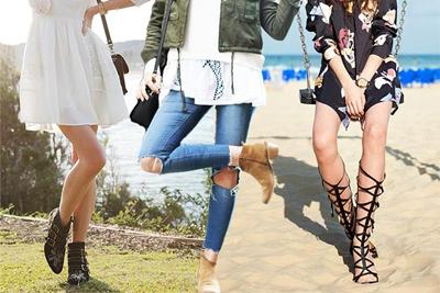 Как носить летние сапоги?
