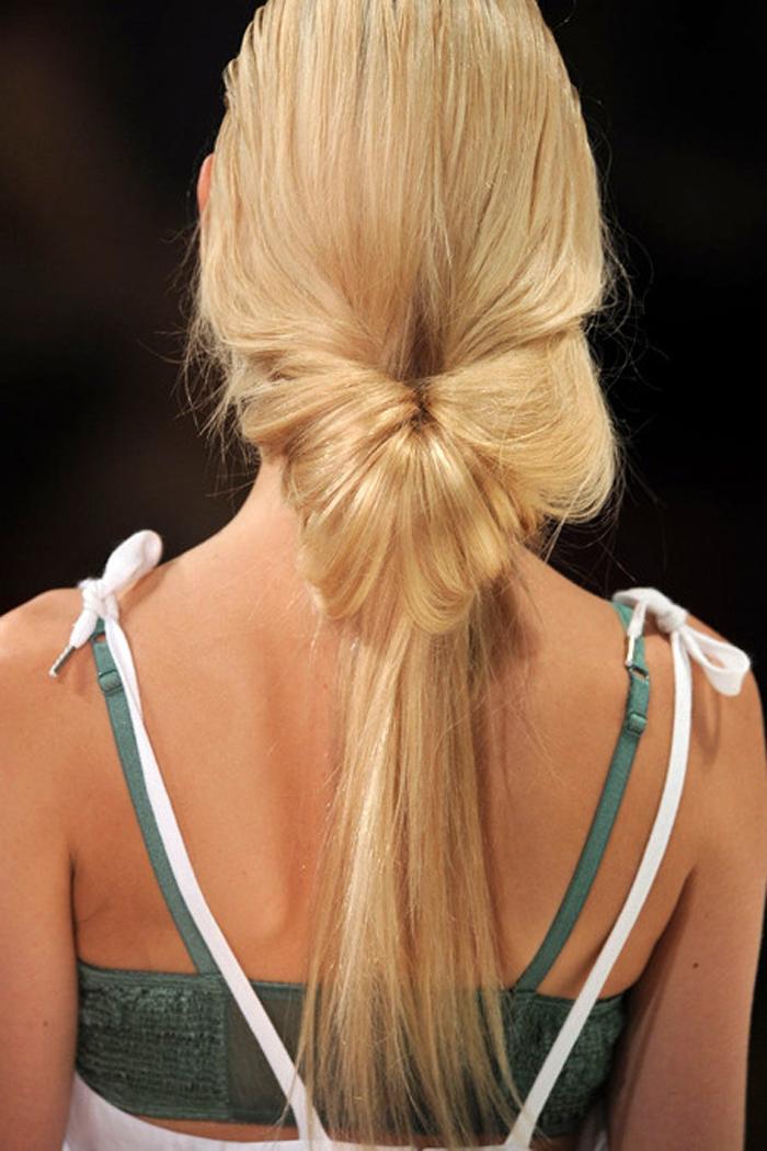 Красивые хвосты на длинные волосы своими руками