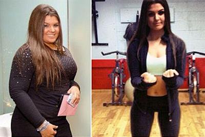 Невероятное похудение. До и после (40 фото)